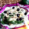 Шпинатно-сырные равиоли
