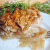 Куриные окорочка, запеченные под сметанно-томатным соусом