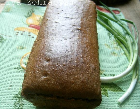 Немецкий фермерский ржано-пшеничный хлеб на закваске