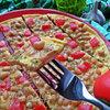 Омлет с фасолью и овощами