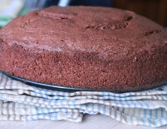 Шоколадный торт с малиновым муссом