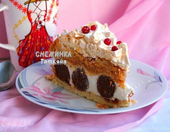 Многослойный торт «Сладкий комплимент»