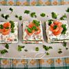 """Закусочные пирожные из лосося и шпината """"Сёмужкин каприз"""""""