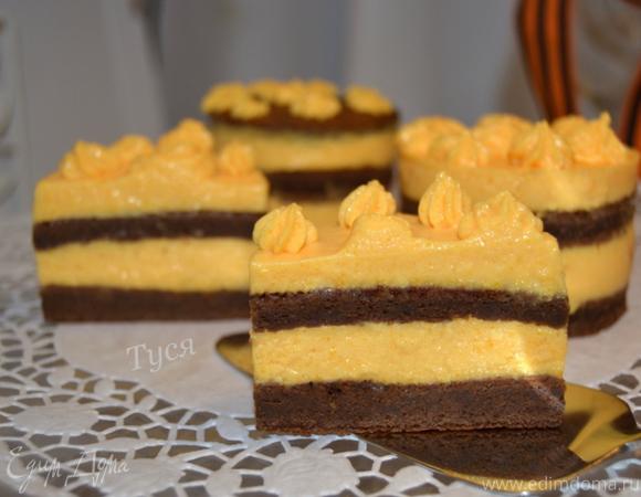 Муссовое пирожное «Георгиевское»