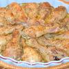 Куриные голени с шампиньонами в горчичном соусе