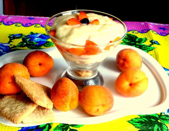Десерт с заварным кремом (без масла)
