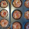 Маффины с цукини, сыром и помидорами черри