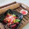Японский имбирный салат с фруктами