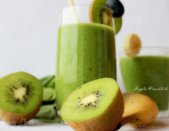 Зеленый смузи - напиток здоровья!