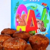 Кексы «Сырный перекус»