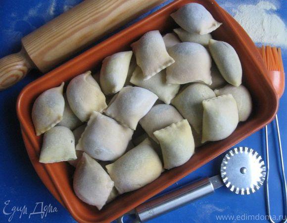 Жареные швабские пельмени Маульташен (Maultasche)