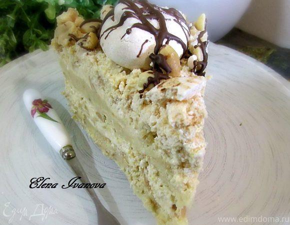 Торт по мотивам Киевского (без выпечки)