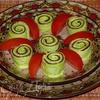 Закуска из лаваша «Улитки»