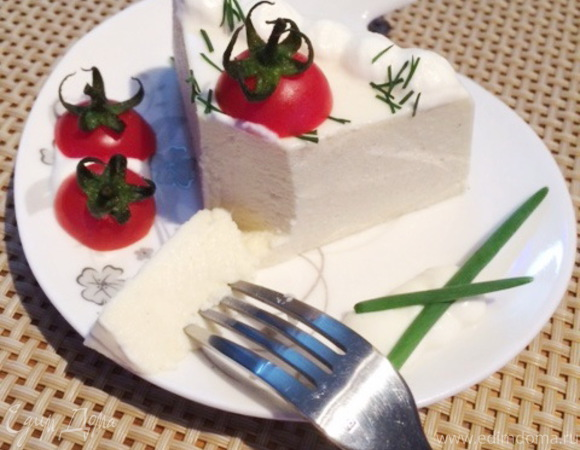 Закусочный муссовый торт из цветной капусты