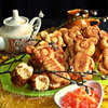 Мягкое печенье с цукатами «Мишки»