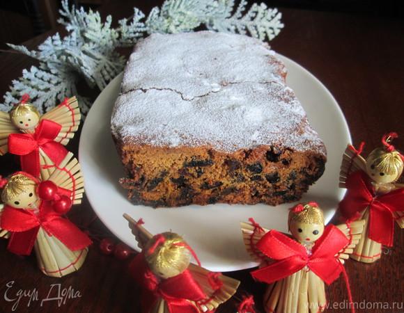 Традиционный английский рождественский кекс