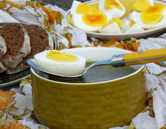 Словацкий суп «Зеленуца»