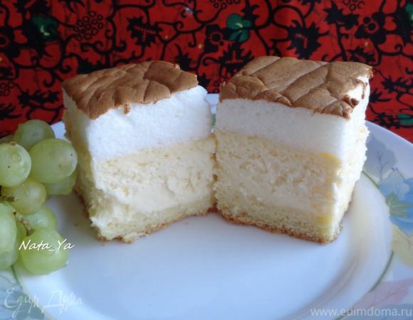Творожный пирог с противня