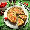 Киш «Тунец с овощами»