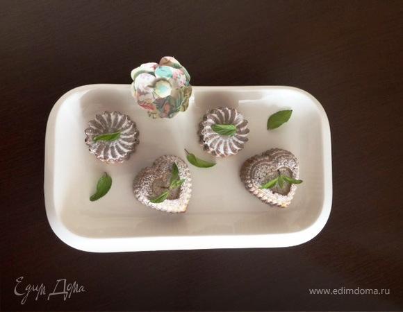 Кексы на сливках со смородиной