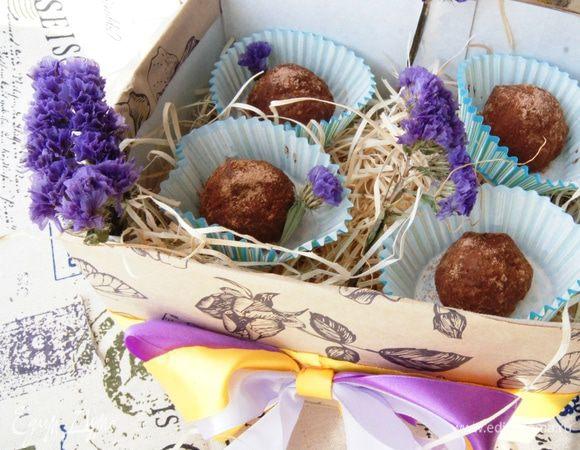 Шоколадно-ореховые конфеты из пшена