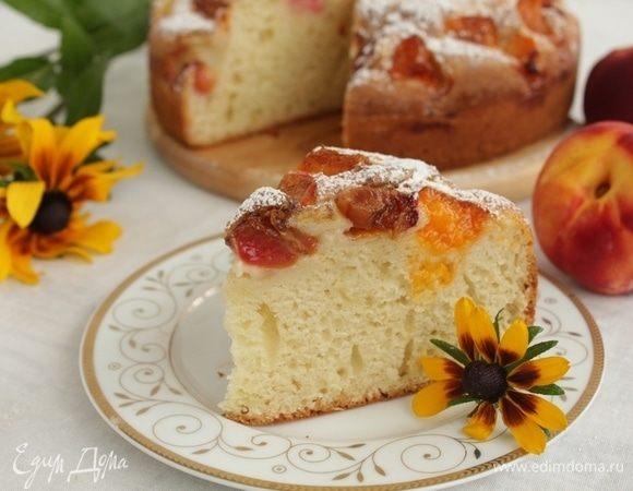 Сливовый пирог на йогурте