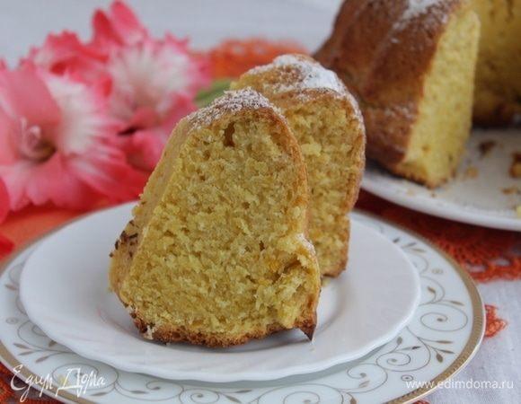 Тыквенный кекс с кокосом
