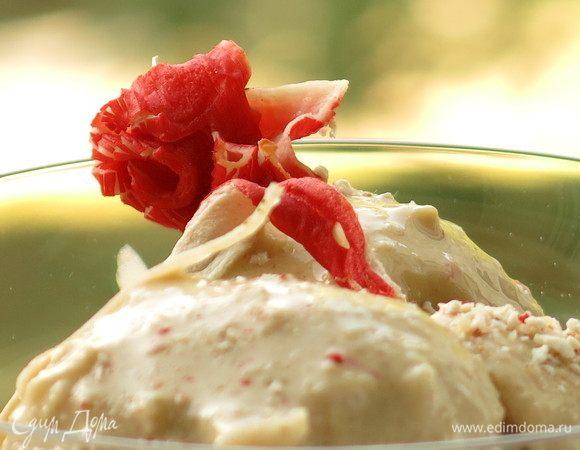 Соленое мороженое с крабовыми палочками