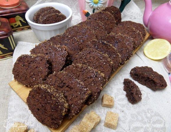 Шоколадное печенье «Пикантное»