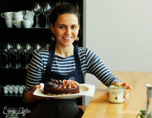 Греческий влажный шоколадный пирог