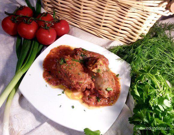 Итальянские рулетики под томатным суго