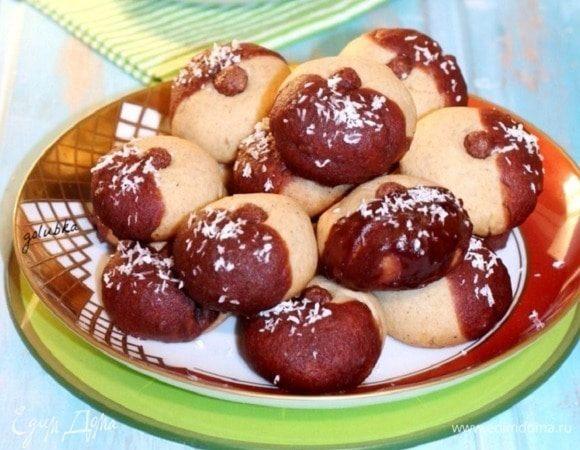 Медово-ореховое печенье