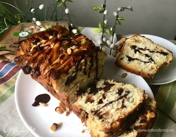 Немецкий отрывной хлеб Zupfbrot