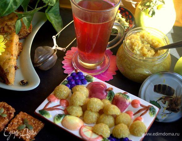 Имбирно-лимонная заготовка в чай