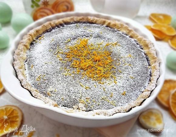 Апельсиново-шоколадный пирог