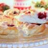 Пирог «Рождественский венок»