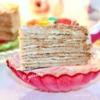 Торт «Рыжик» с творожным кремом