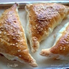 Пирожки с курицей и чечевицей
