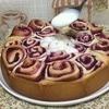 Пирог «Смородиновые завитки»