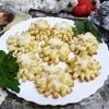 Печенье «Хризантема» на желтках
