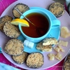 Печенье с пармезаном и маком из книги Юлии Высоцкой