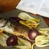 Сибас, запеченный в духовке