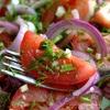 Закуска из помидоров к шашлыкам