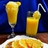 Сорбет «Апельсиновый рай»