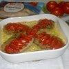Тилапия с овощами и сыром
