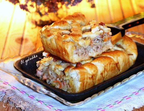 Пирог домашний с начинкой