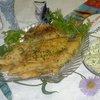 Тилапия с пряным маслом