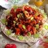 Свекольно-рыбный салат