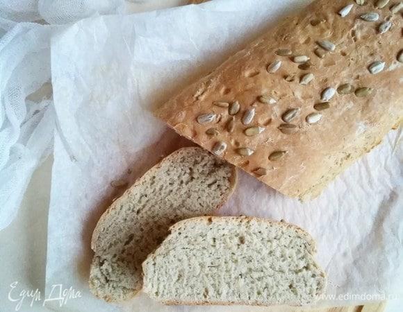 Домашний пшенично-ржаной хлеб