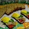 Ароматный бездрожжевой хлеб